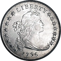 1796 Draped Bust Dollar