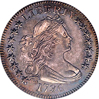 1796 Draped Bust Quarter