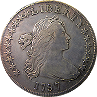 1797 Draped Bust Dollar Value Cointrackers