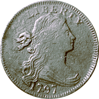 1797 Draped Bust Half Dollar