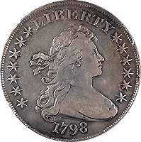 1798 Draped Bust Dollar