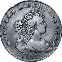 1800 Draped Bust Dollar