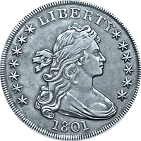 1801 Draped Bust Dollar