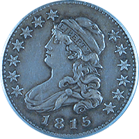 1815 Capped Bust Quarter