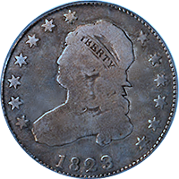 1823 Capped Bust Quarter