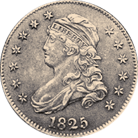 1825 Capped Bust Quarter