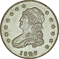 1827 Capped Bust Quarter