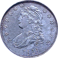 1828 Capped Bust Quarter