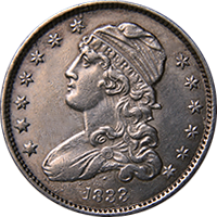 1833 Capped Bust Quarter