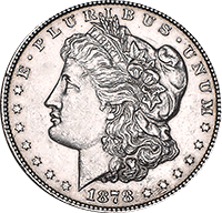 1878 Morgan Silver Dollar