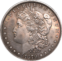 1879 CC Morgan Silver Dollar