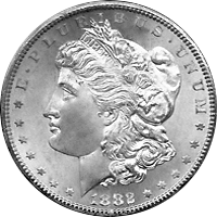 1882 Cc Morgan Silver Dollar Value Cointrackers