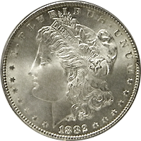 1882 Morgan Silver Dollar Value Cointrackers
