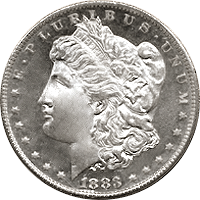 1883 CC Morgan Silver Dollar