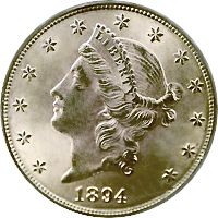 1894 Liberty Head Double Eagle