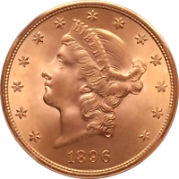 1896 Liberty Head Double Eagle