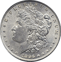 1896 Morgan Silver Dollar Value Cointrackers