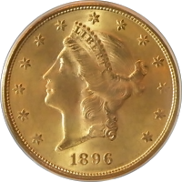 1896 S Liberty Head Double Eagle
