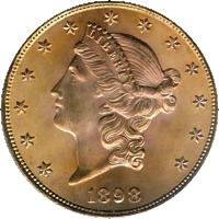 1898 Liberty Head Double Eagle