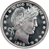 1898 S Barber Half Dollar Value | CoinTrackers