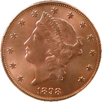 1898 S Liberty Head Double Eagle