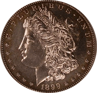 1899 O Morgan Silver Dollar