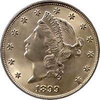1899 S Liberty Head Double Eagle
