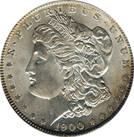 1900 S Morgan Silver Dollar