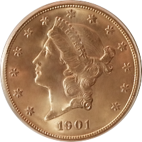 1901 Liberty Head Double Eagle
