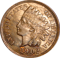1902 Indian Head Penny