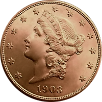 1903 Liberty Head Double Eagle
