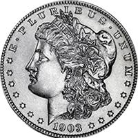 1903 Morgan Silver Dollar Value | CoinTrackers