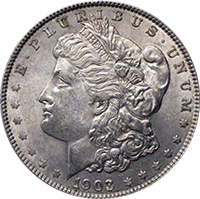 1903 O Morgan Silver Dollar