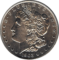 1903 S Morgan Silver Dollar