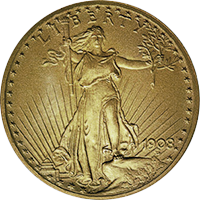 1908 St Gaudens Double Eagle
