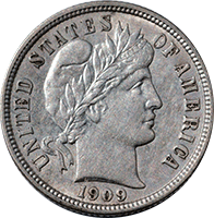 1909 S Barber Dime Value | CoinTrackers