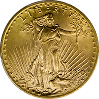 1910 St Gaudens Double Eagle