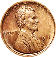 1911 D Wheat Penny