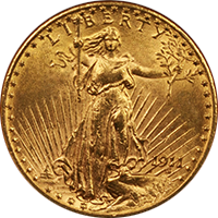 1911 S St Gaudens Double Eagle