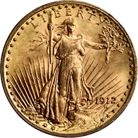 1912 St Gaudens Double Eagle