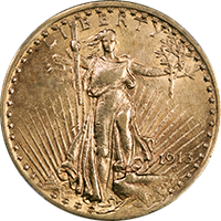 1913 St Gaudens Double Eagle