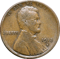 1913 Wheat Penny