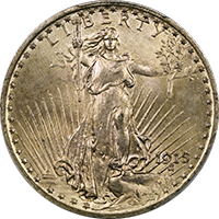 1915 St Gaudens Double Eagle