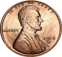 1916 D Wheat Penny