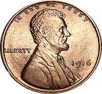 1916 Wheat Penny