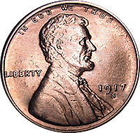 1917 D Wheat Penny