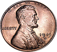 1919 D Wheat Penny