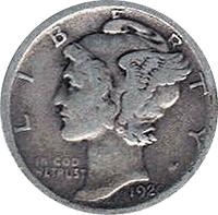1920 D Mercury Dime Value Cointrackers