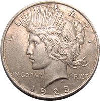 s peace dollar
