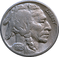 1925 S Buffalo Nickel